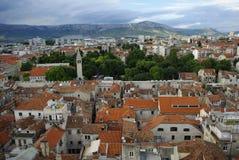 Panorama en Croatie Images stock