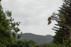 Panorama en Doi Saket Fotos de archivo