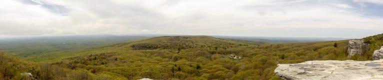 Panorama en el coto del punto del ` s de Sam, el condado de Ulster, Nueva York fotos de archivo