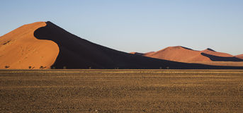 Panorama en Namibie Photographie stock