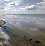 Panorama en un mar Báltico fotografía de archivo libre de regalías