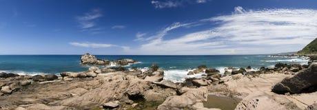 Panorama erosion sandstone Stock Image