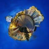 Panorama esférico de 360 grados Imagen de archivo libre de regalías