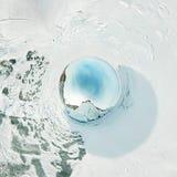 Panorama esférico 360 180 grados de chamán del cabo en la isla de Fotografía de archivo libre de regalías