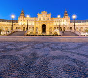 Panorama Espana Square Spain Stock Photography