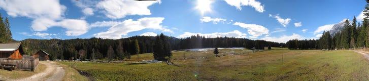 Panorama especial de Tirol, Áustria Imagens de Stock