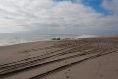 Panorama esquelético de la costa Imagenes de archivo