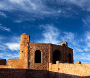 Panorama of Essaouira Fortress, Morocco Stock Image