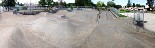 Panorama esterno di Skatepark Fotografia Stock