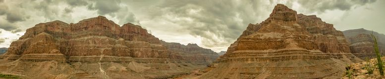 Panorama Etats-Unis, Nevada 2013 de Grand Canyon Photo libre de droits