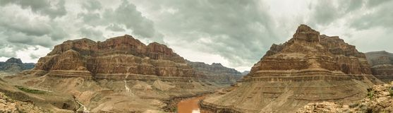 Panorama Etats-Unis, Nevada de Grand Canyon Photos stock