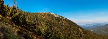 Panorama of European Countryside Royalty Free Stock Image
