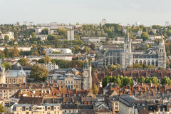 Panorama of Evreux Stock Image