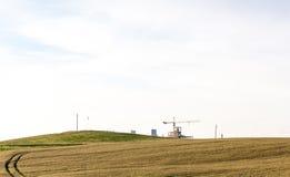 Panorama exterior do trigo do verão Imagem de Stock