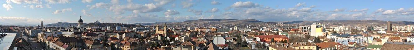 panorama för 2 cluj Arkivfoton