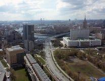 panorama för 2 moscow Arkivbild