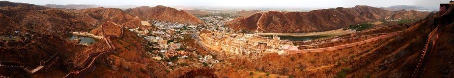 Panorama för Amer fortcomplex Arkivfoton
