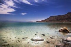 Panorama för dött hav Royaltyfri Bild