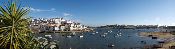 panorama för ferragudo 01 Royaltyfri Bild