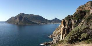 Panorama falso de la bahía Fotografía de archivo libre de regalías