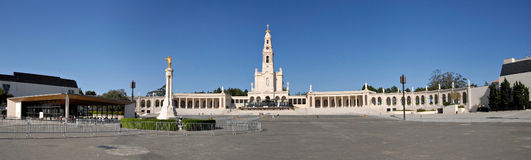 Panorama of Fatima, Portugal. Stock Image