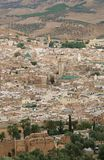 Panorama of Fes #5. Panoramic view at part of Fes town (Morocco Stock Images