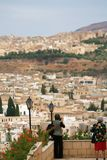 Panorama of Fes #6. Panoramic view at part of Fes town (Morocco Stock Photography