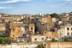 Panorama of Fez Stock Image