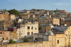 Panorama of Fez Royalty Free Stock Image