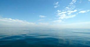 Panorama fin de mer Images libres de droits