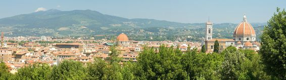 Panorama Firenze Stock Photography