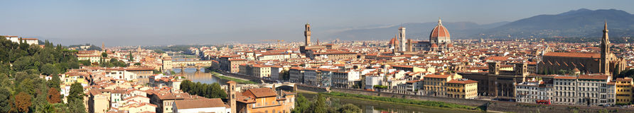 Panorama of Florence Stock Image