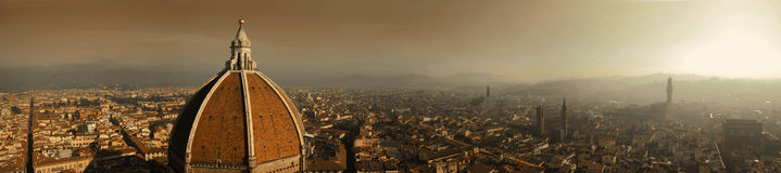 Panorama of Florence royalty free stock images