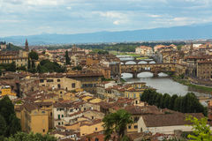 Panorama of Florence stock photography