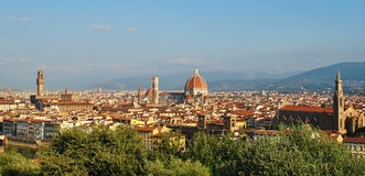 Panorama of Florence city Royalty Free Stock Image