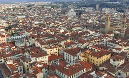 Panorama of Florence cityscape, Italy Royalty Free Stock Images