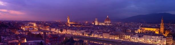 Panorama of Florence Royalty Free Stock Photo