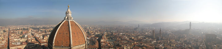 Panorama of Florence (Firenze) Stock Images