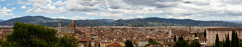 Panorama Florence, Firenze, Tuscany, Italy royalty free stock photo