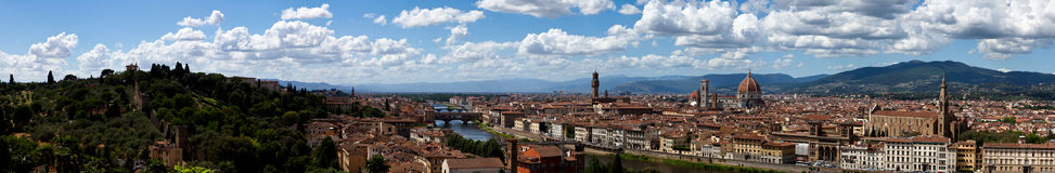 Panorama Florence, Firenze, Tuscany, Italy royalty free stock images