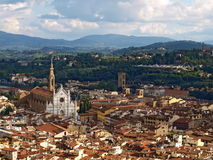 Panorama of Florence, Italy Royalty Free Stock Photos