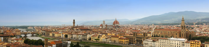 Panorama of Florence, Italy Stock Image