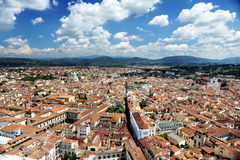 Panorama of Florence landscape, Toscany Stock Photo