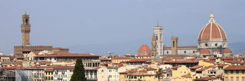 Panorama of Florence Stock Photo