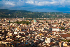 The panorama of Florence Royalty Free Stock Photo