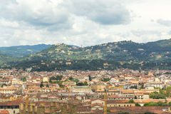 Panorama of Florence Royalty Free Stock Photos