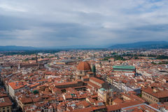 Panorama of Florence. Panoramic day view of Florence city, Italy Royalty Free Stock Images