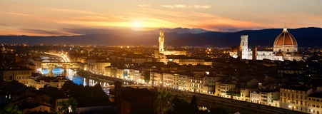 Panorama of Florence Stock Photo