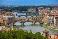 Panorama of Florence Stock Photos