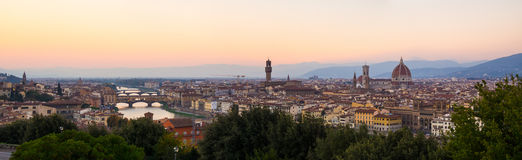 Panorama of Florence Royalty Free Stock Photo